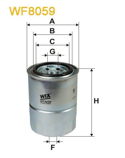WIX Treibstofffilter WF8059