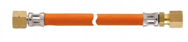 Gasschlauch/2xGewinde 8mm 0.65m
