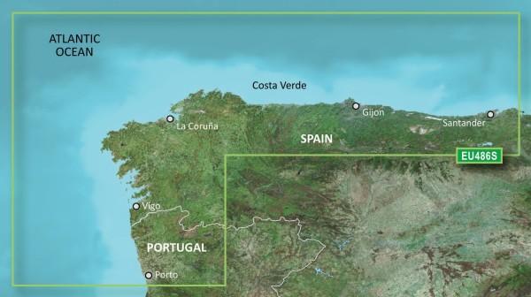 Garmin G3 Vision VEU486S - Galicia and Asturias