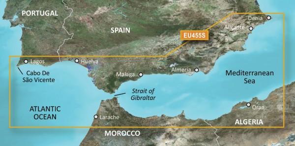 Garmin G3 Vision VEU455S - Alicante to Cabo de Sao Vicente