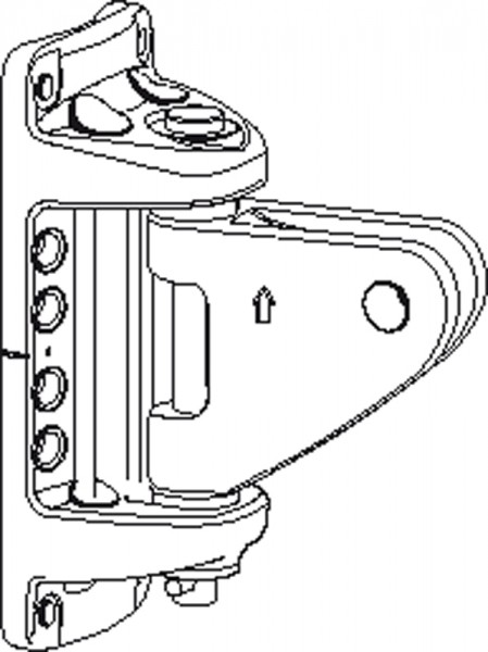 Seldén 508-257-24 Kicker-Mastbeschlag