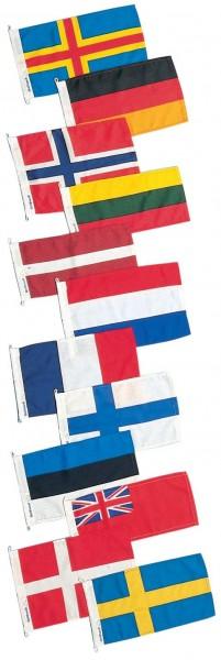 Gastlandflaggen 30cm