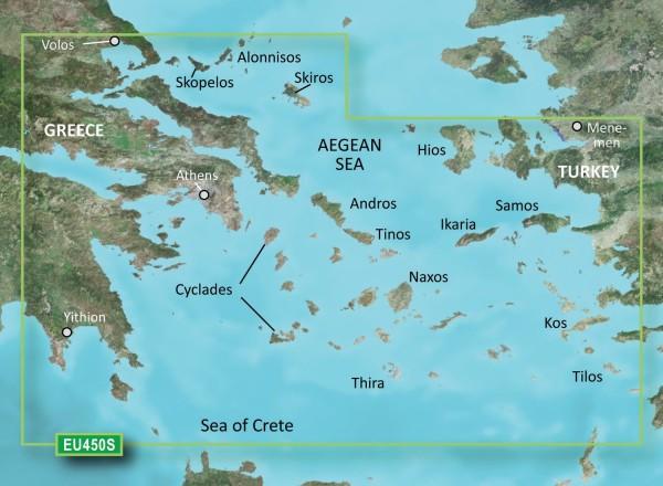 Garmin G3 Vision VEU450S - Athens and Cyclades