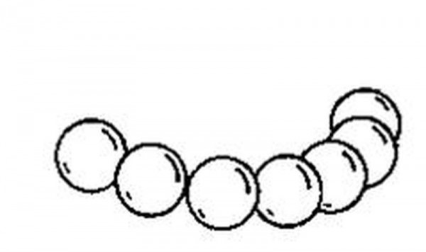 Ersatzkugel Torlon für RCB-System 30, 5/16 Zoll
