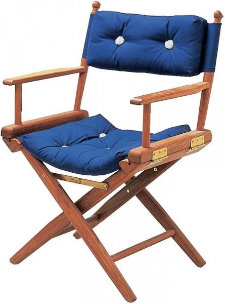 Stuhl-Kissen Marineblau