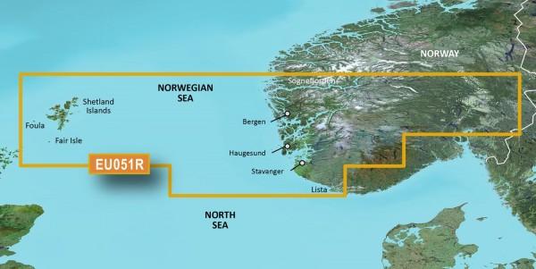 Garmin Bluechart EU051R Lista - Sognefjorden