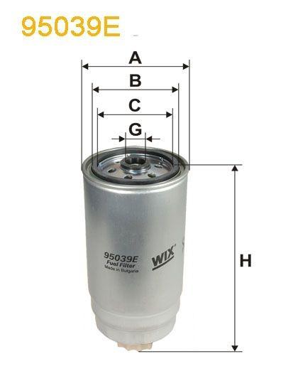 WIX Treibstofffilter 95039E