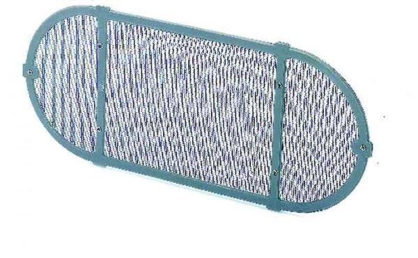Insektengitter oval für 5920-200-13, -23 und -43 für 403x204mm