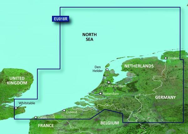 Garmin Bluechart EU018R Benelux Offshore & Inland