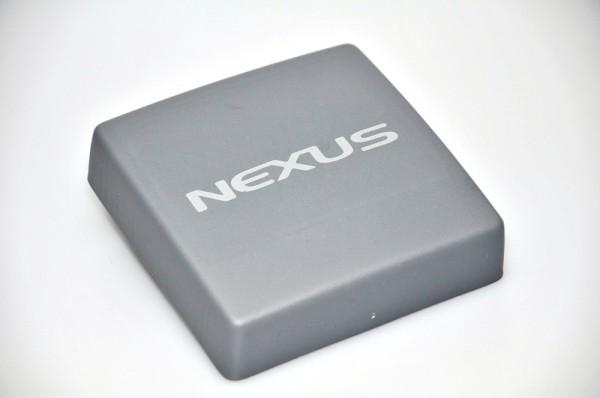 Nexus Instrumenten-Abdeckung 113x113mm grau