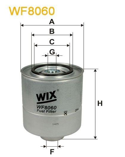WIX Treibstofffilter WF8060