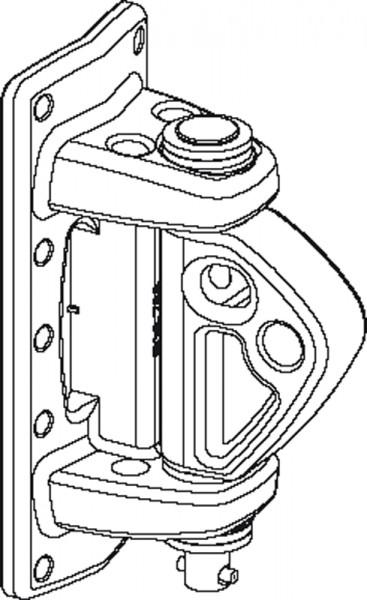 Seldén 508-788-12 Kicker-Mastbeschlag