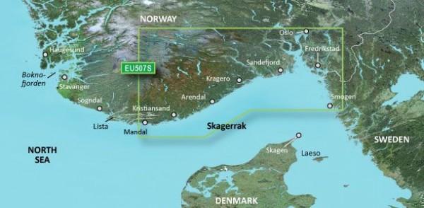 Garmin G3 Vision VEU507S - Oslo-Mandal-Smogen