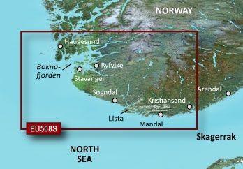 Garmin G3 Vision VEU508S - Kristiansand-Haugesund-Ryfylke