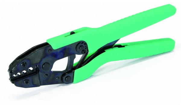 Crimpzange für unisolierte Kabelschuhe 0.75-10mm²