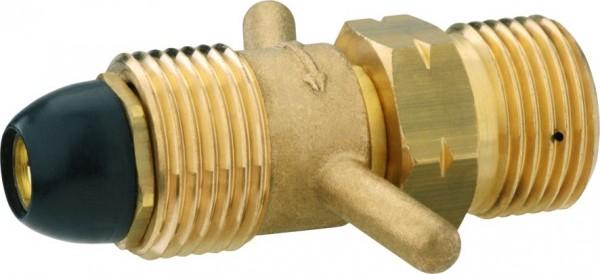 Adapter Gas-Druckregler 3/5+kg