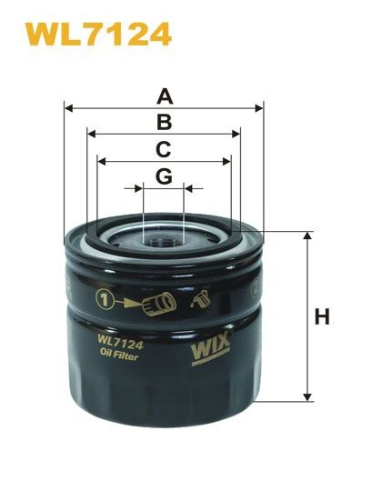 WIX Ölfilter WL7214