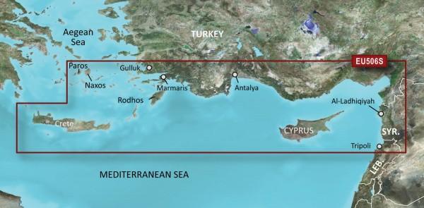 Garmin G3 Vision VEU506S - Crete-Cyprus