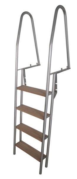 Stegleiter. 4 Stufen. verzinkt
