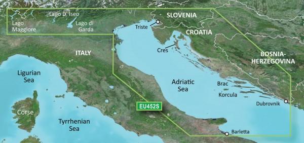 Garmin G3 Vision VEU452S - Adriatic Sea, North Coast