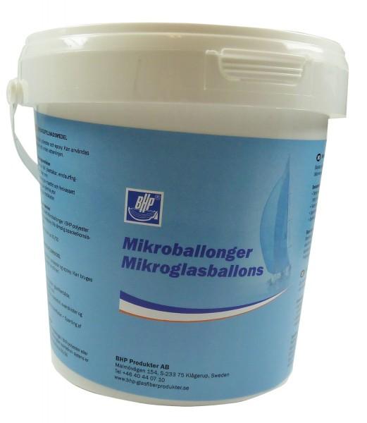 Mikroglasballons grau