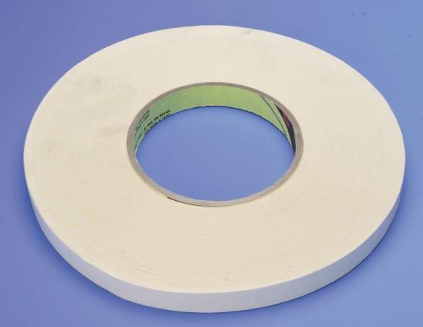 Doppelseitiger PET-Kleber für silikonisiertes Tuch / 12mm / kein Nahtkleber