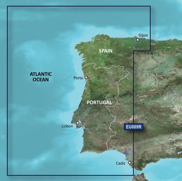Garmin Bluechart EU009R Portugal & Northwest Spain