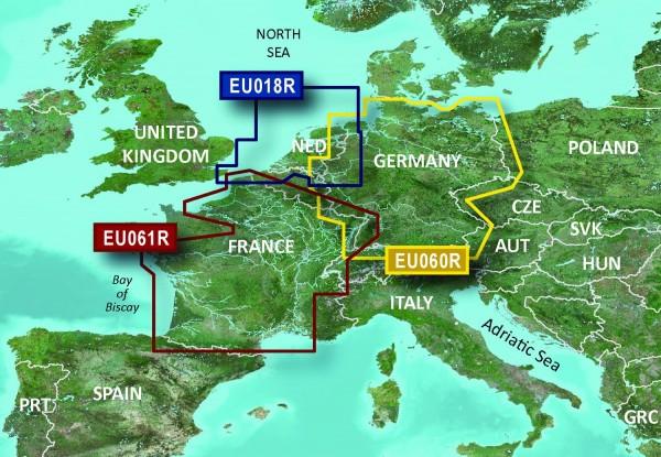 Garmin Bluechart EU060R Binnengewässer Deutschland
