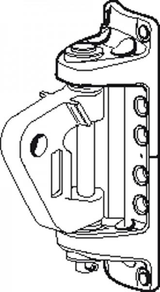Seldén 508-231-12 Kicker-Mastbeschlag