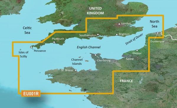 Garmin Bluechart EU001R English Channel