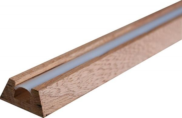 Mahagoni Profil für LED Tape, L=1m