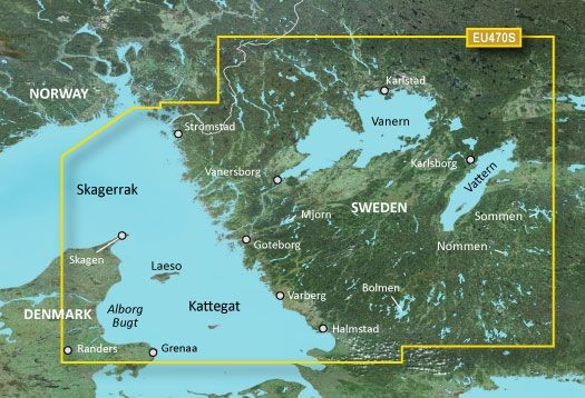 Garmin G3 Vision VEU470S - Stromstad to Halmstad
