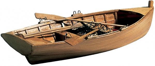 Bootsmodell Ruderboot 300mm