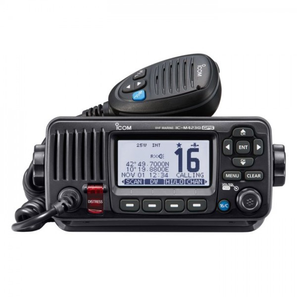 ICOM UKW-Seefunkgerät M423GE mit GPS