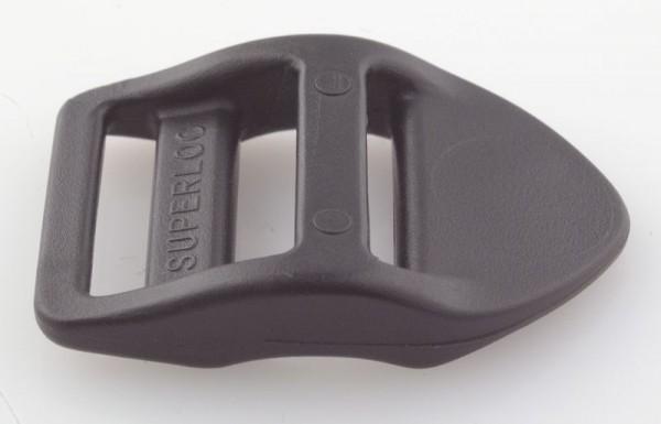 Leiterschnalle Nylon schwarz