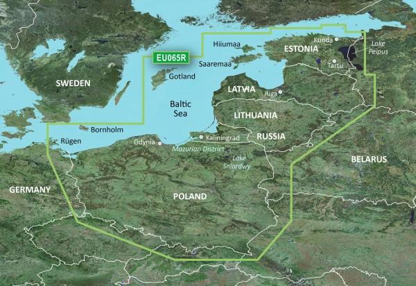 Garmin G3 VEU065R - Baltic Sea, East Coast