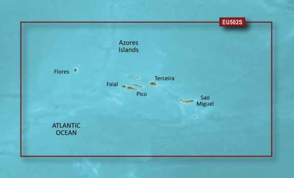 Garmin G3 Vision VEU502S - Azores Islands
