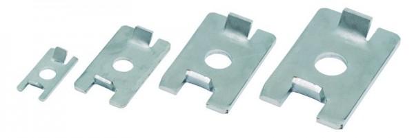 Montageplatten für Seldén Schienen
