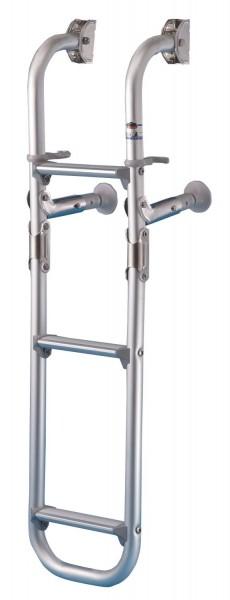Badeleiter Alumuminium klappbar, 760mm, 3 Stufen