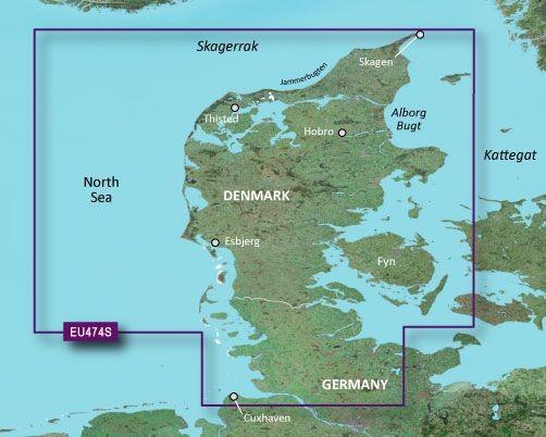 Garmin G3 Vision VEU474S - Northern Denmark and the Eider