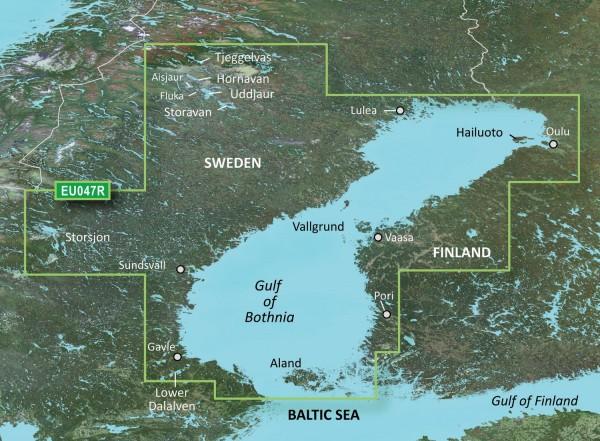 Garmin Bluechart EU047R Gulf of Bothnia