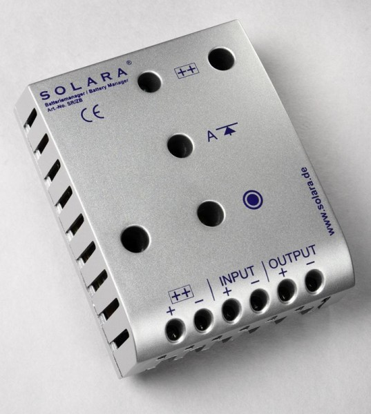 Solara Laderegler SR340E 12V 20A 340W LED Anzeige