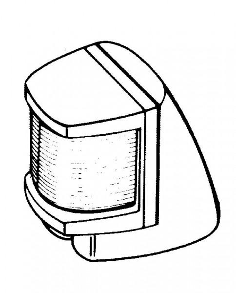 Deckshalter Hella <12m Schwarz